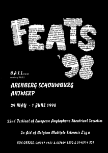 FEATS 1998 poster