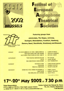 FEATS 2002 poster