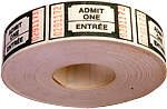 Roll of tickets